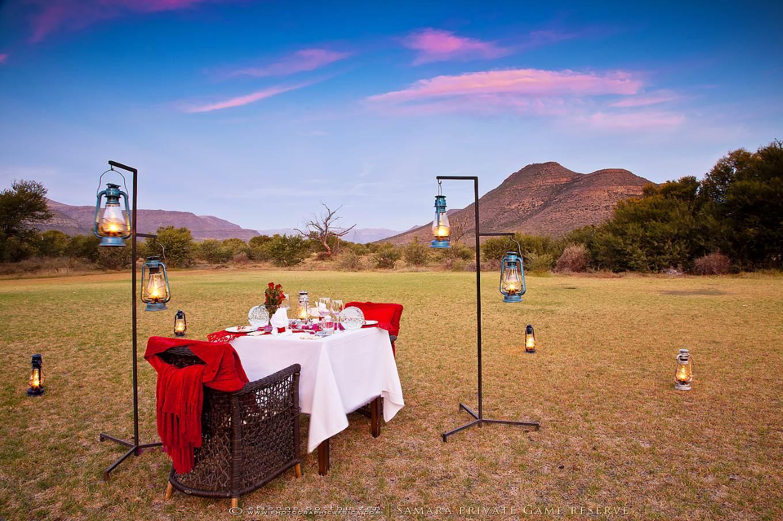Karoo, Südafrika, Samara Private Game Reserve