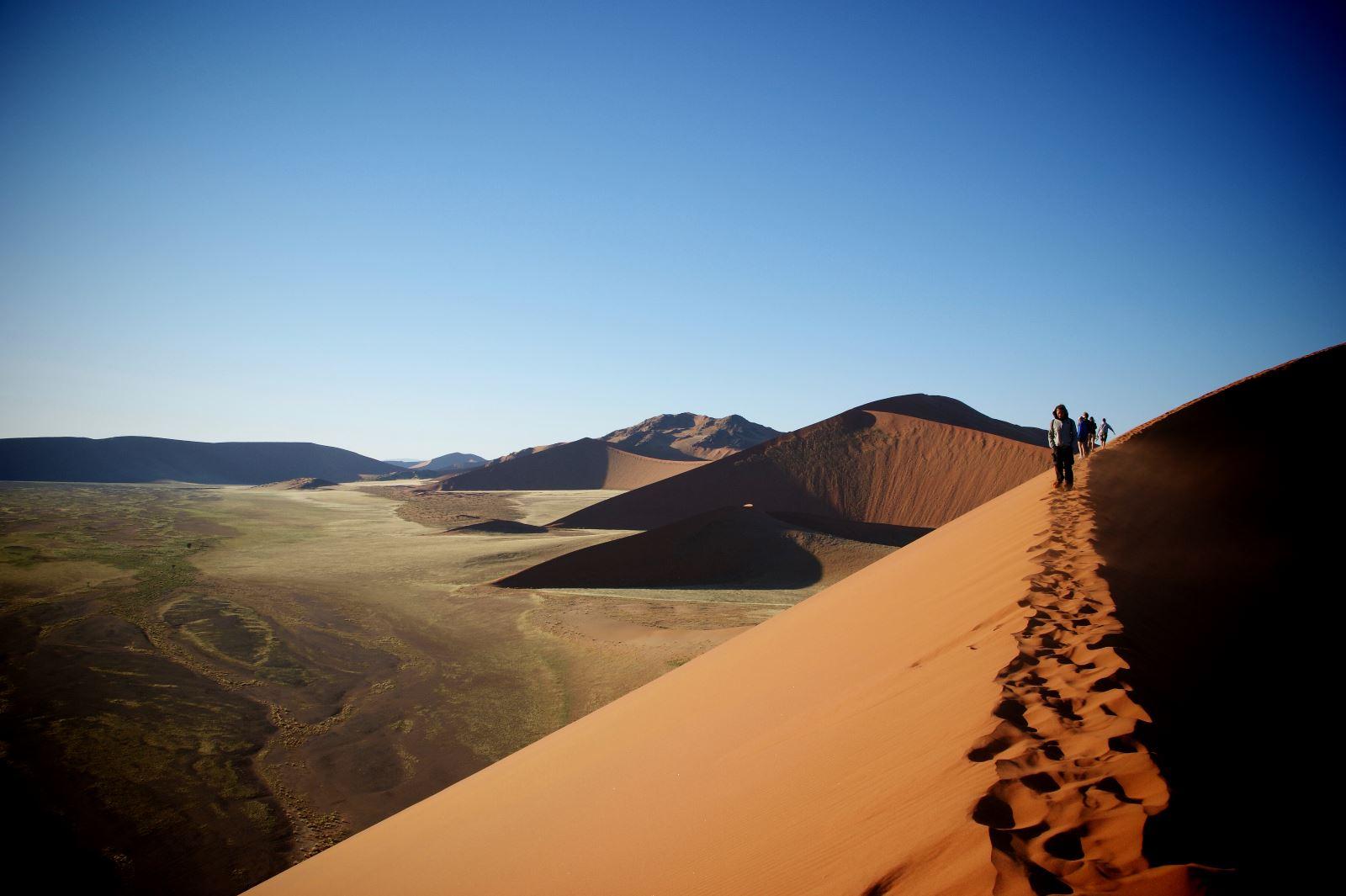 Dunes in Sossusvlei, Namib Naukluft National Park, Namibia