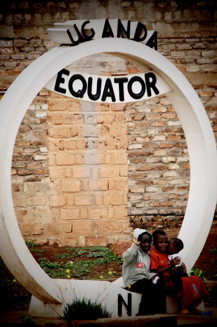 Wandern zum Äquator in Uganda
