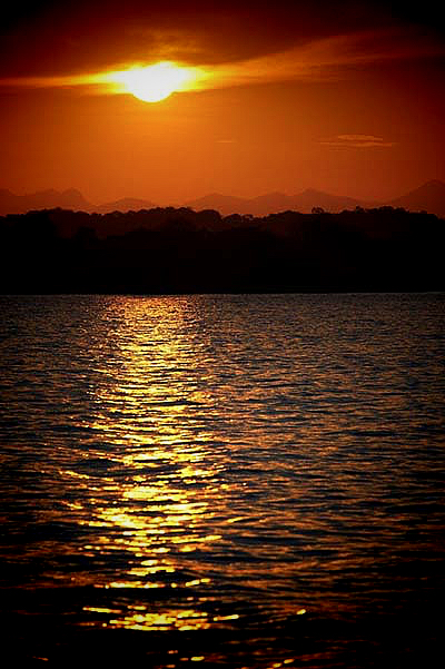 Sunset at Lake Malawi, Malawi