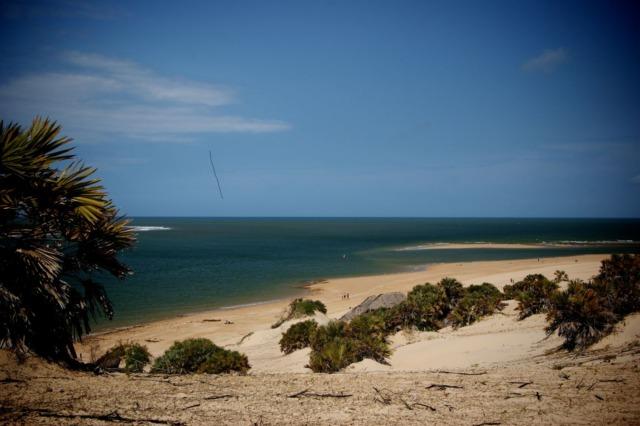 Shela Beach in Lamu Archiepelago, Kenya
