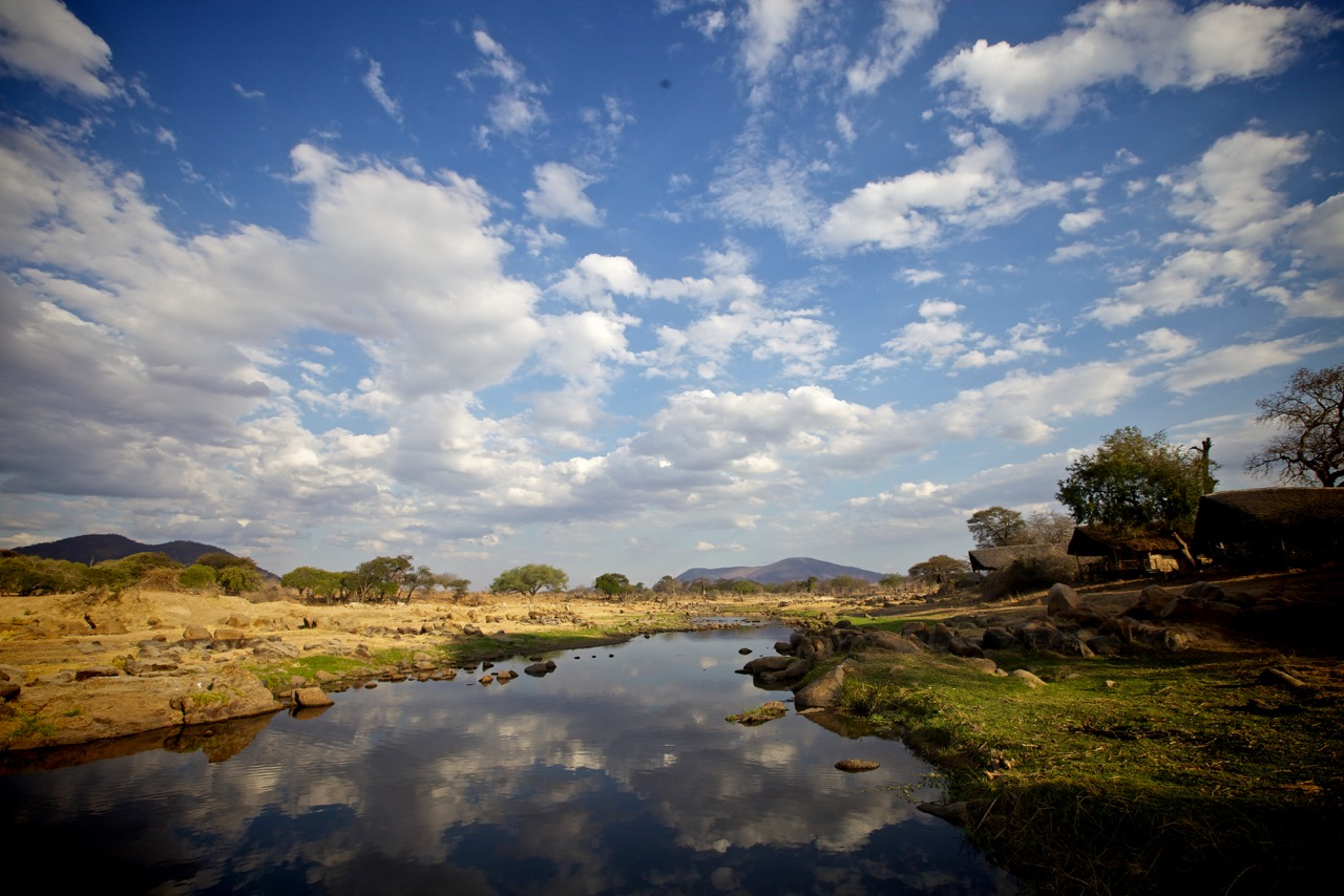 Ruha River, Ruaha River Lodge in Tanzania, Ruaha National Park
