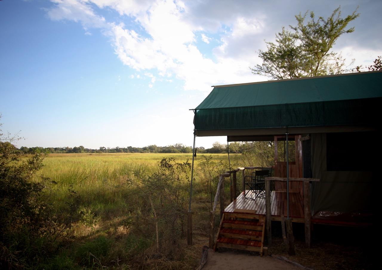 Safari im Sango Safari Camp, Kwhai Community Area, Botswana