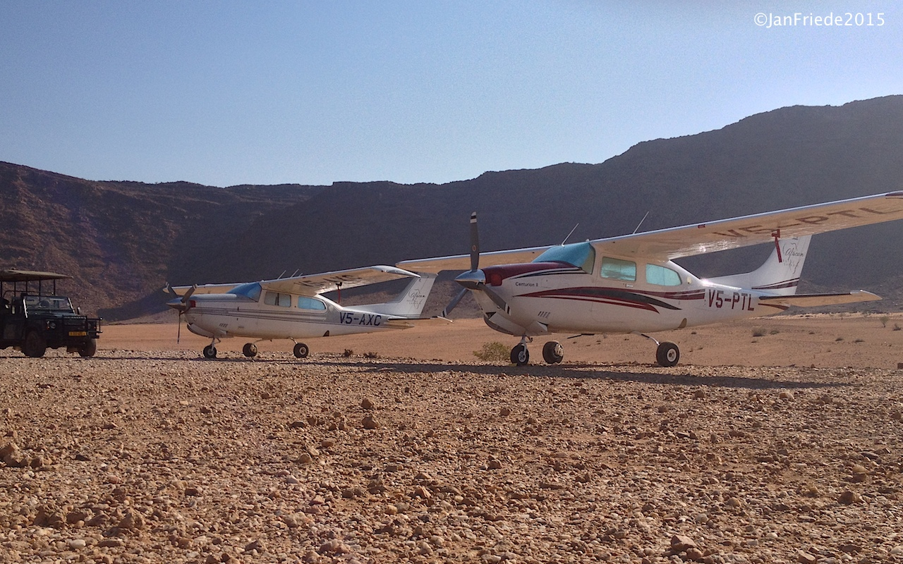 Fly-in Safari in Namibia