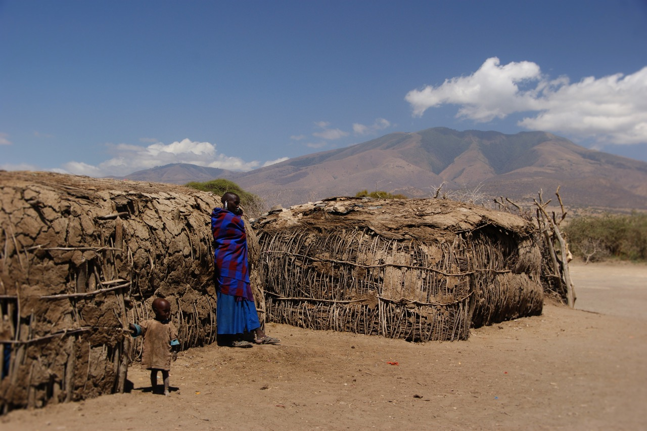Masai Culture in the Ngorongoro Crater, Tanzania, Village Life