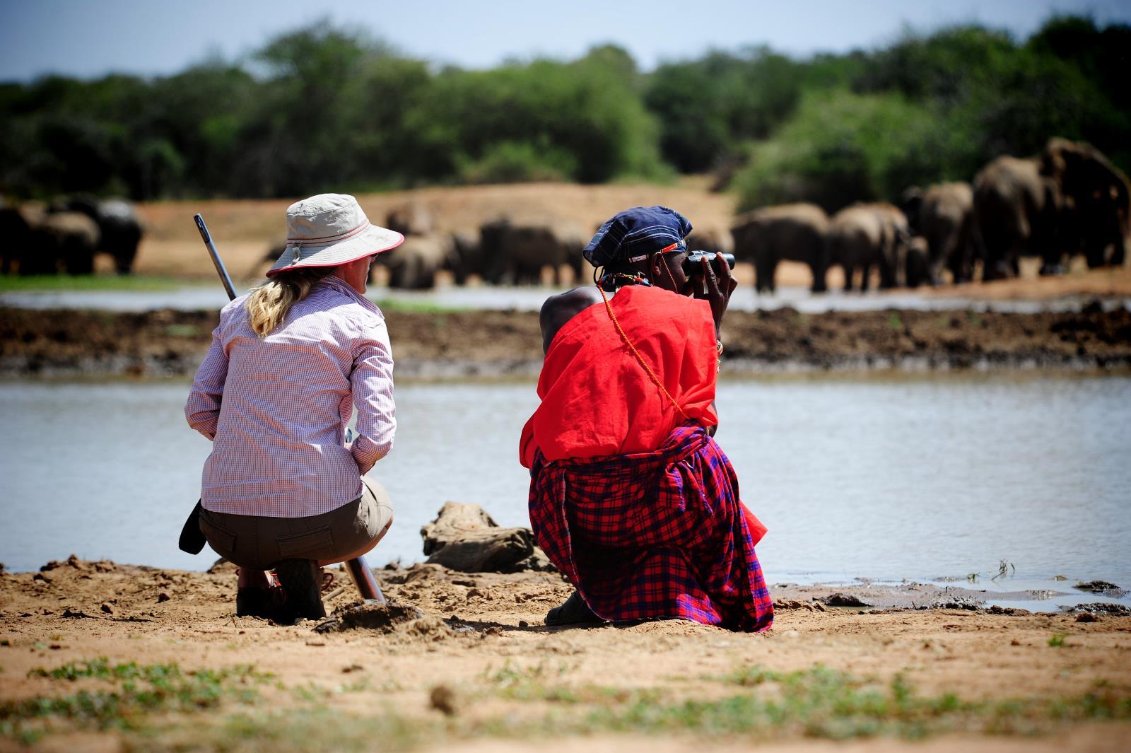 Buschwanderungen und Fuss-Safari in Laikipia, Kenia