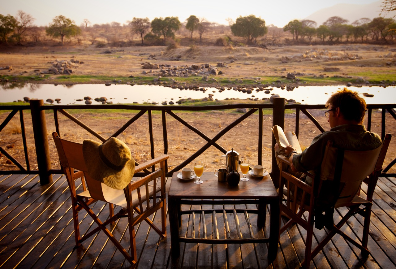 Ruaha River Lodge, Great Ruaha River, Ruaha National Park, Tanzania