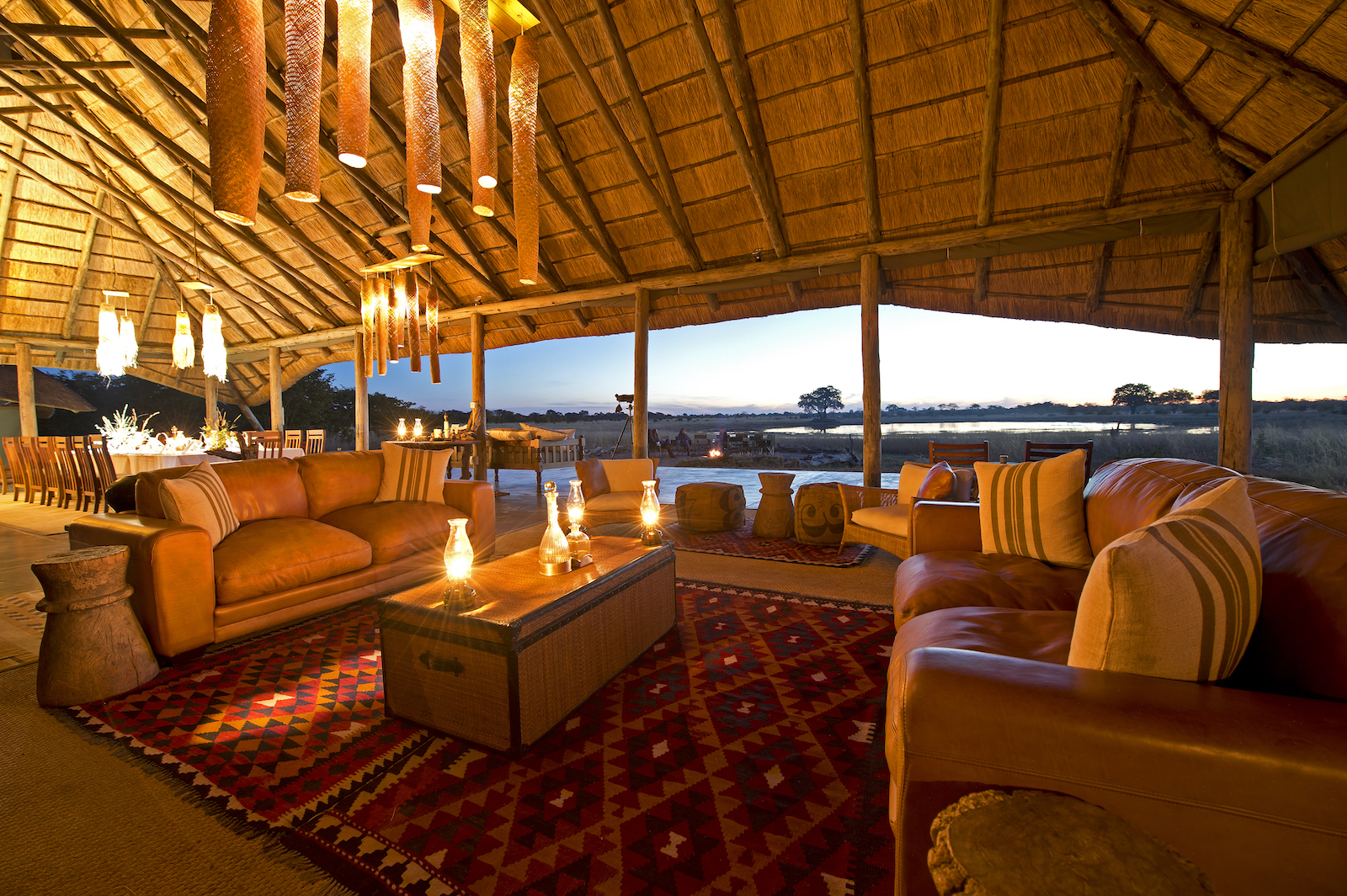 Safari at Camp Hwange, Hwange National Park, Zimbabwe