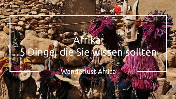 Dogon Dancers in Afrika