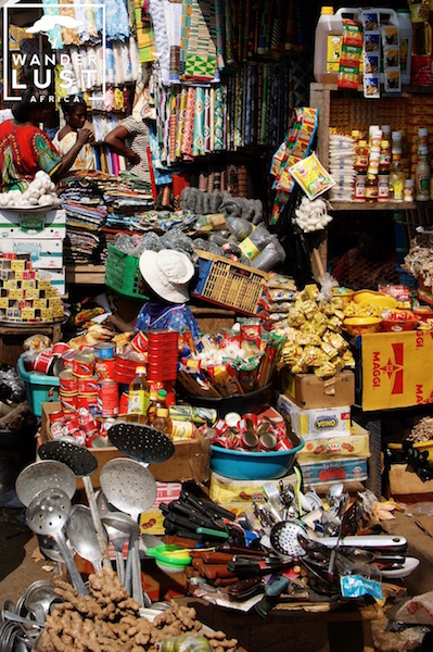 Bunte Märkte in Afrika