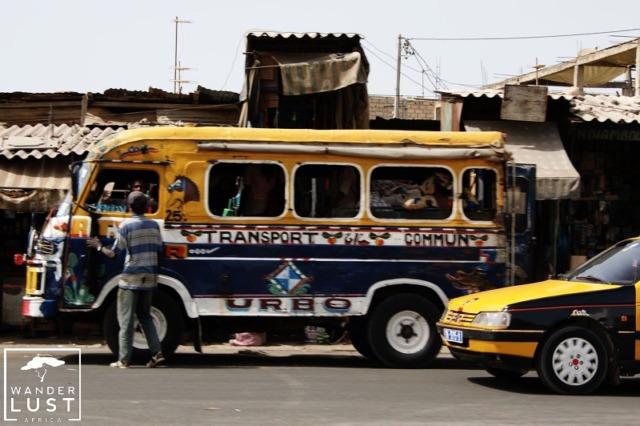 Car Rapide in Dakar, Senegal