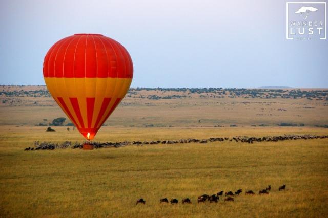 Heißluftballon Safari in Kenia
