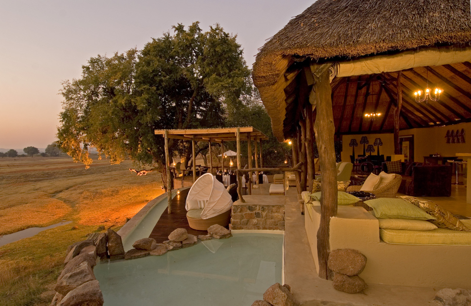 Safari zum Puku Ridge Camp, South Luangwa, Sambia