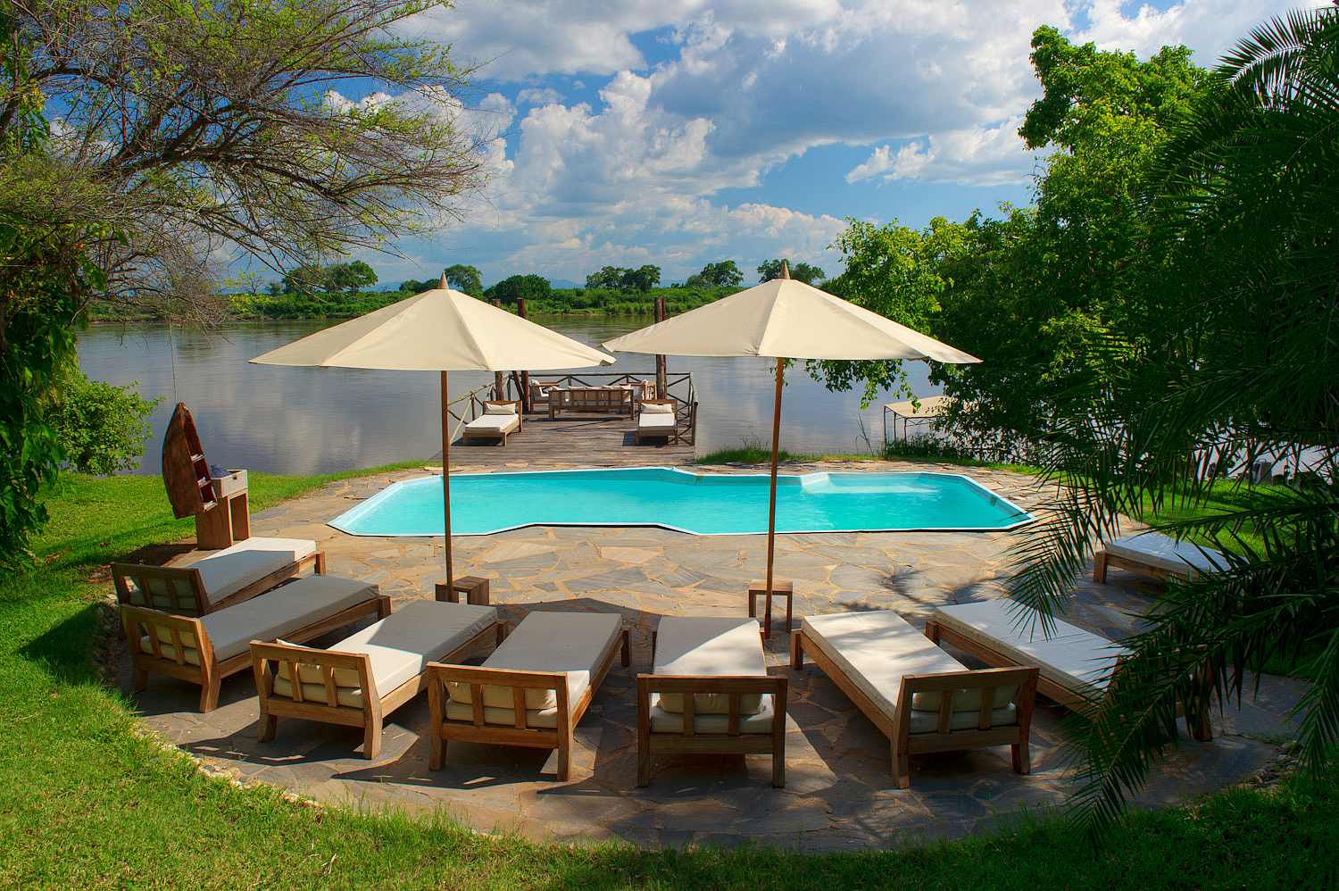 Lower Zambezi, Zambia, Kanyemba Lodge