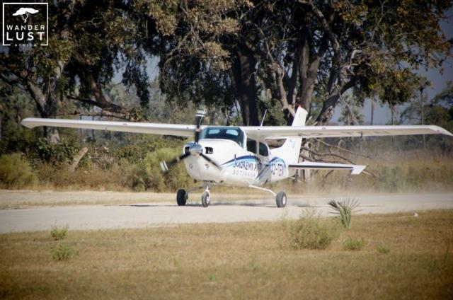 Botswana Flugsafari