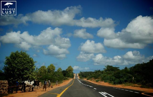 Straßen in Südafrika