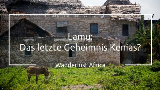 Insel Lamu in Kenia
