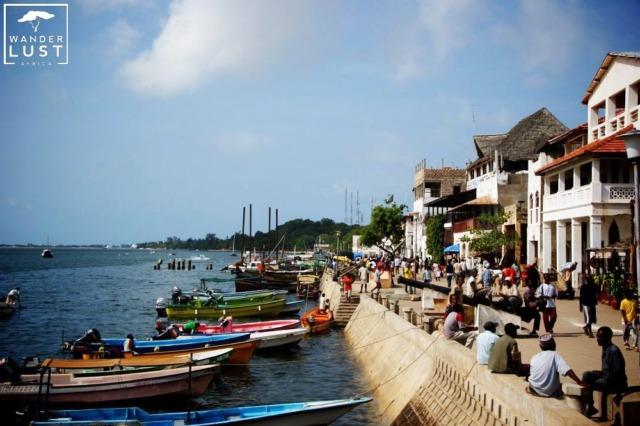 Uferpromenade Lamu