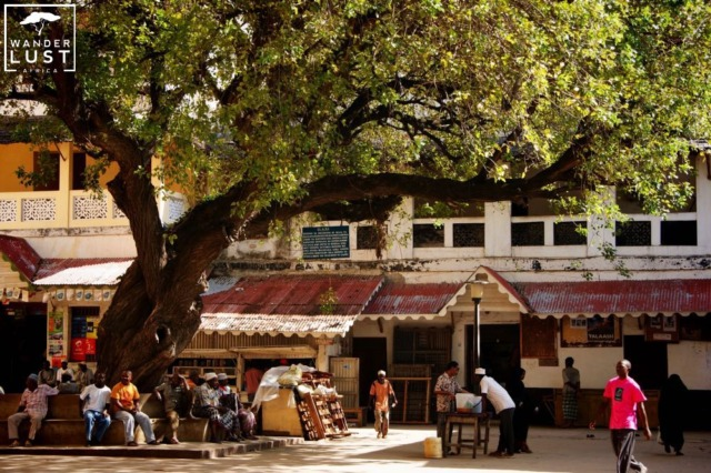 Marketsquare Old Town Lamu
