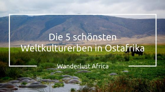 Weltkulturerben: Ngorongoro Krater