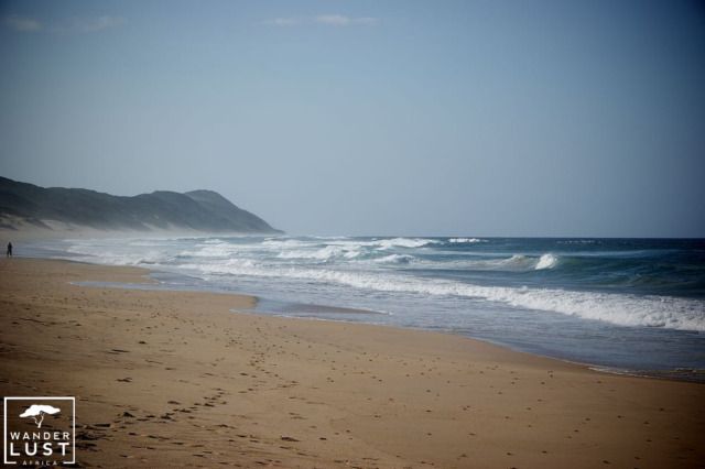 Ponto D'Ouro Beach in Mozambique