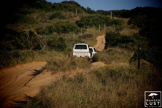 4x4 Dune Rides in Ponta D'Oura Mozambique