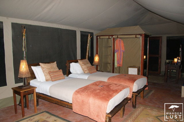 Oliver's Camp in Tarangire ist ein exklusives Tented Camp