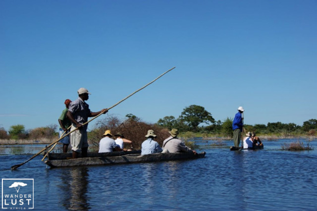 Mokoro Trip durch das Okavango Delta