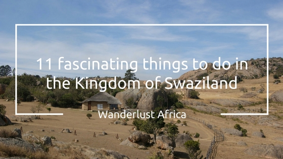 Swaziland is a very scenic country