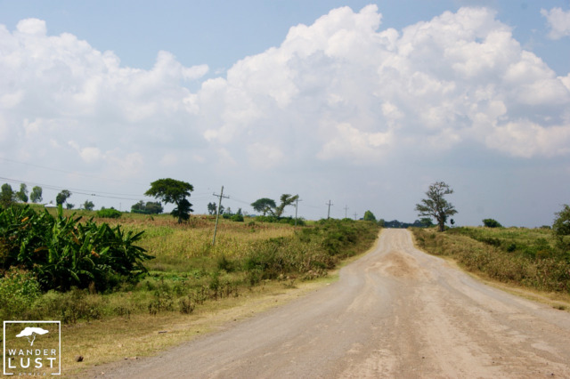 Remote roads in Kenya