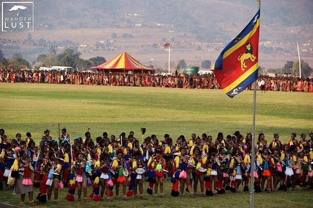Umhlanga Dance, Schilftanz in Swasiland