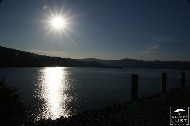 Maguga Dam im Sonnenuntergang, Swasiland