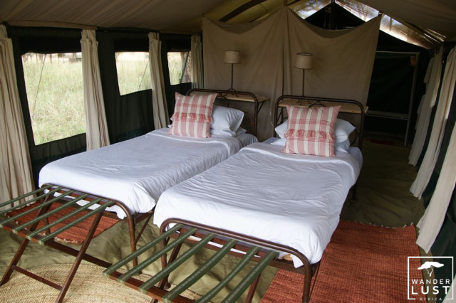 Tented Camp in der Serengeti
