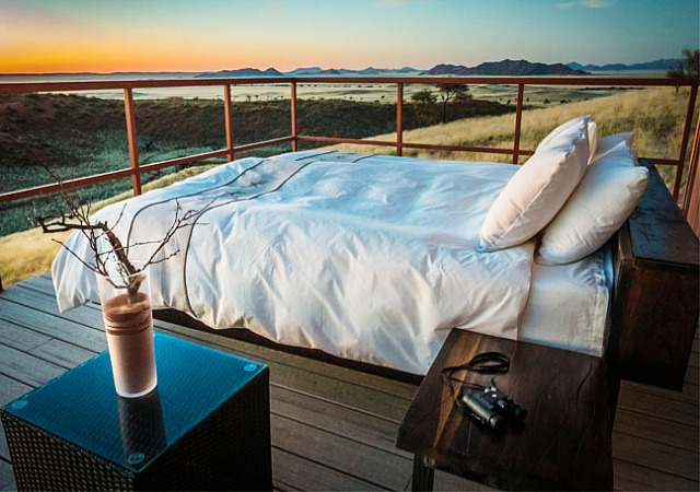 Namib Dune Star Camp in Namibia