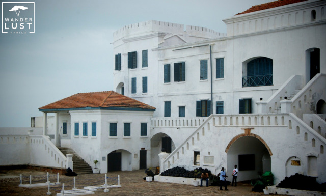 Cape Coast Castle in Ghana, West Africa