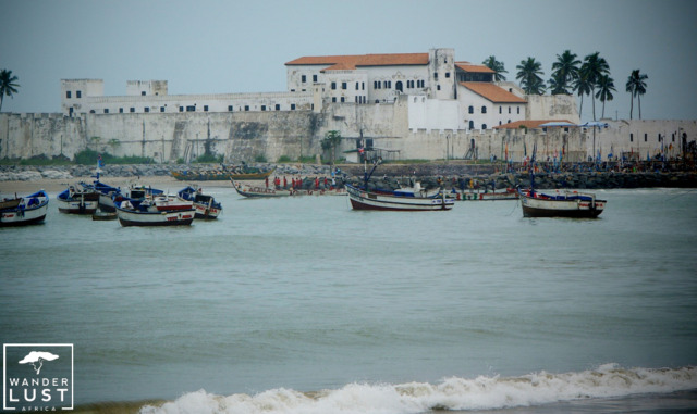 Elmina Castle in Ghana, West Africa