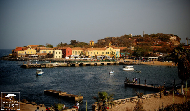 Goree Island in Senegal, West Africa