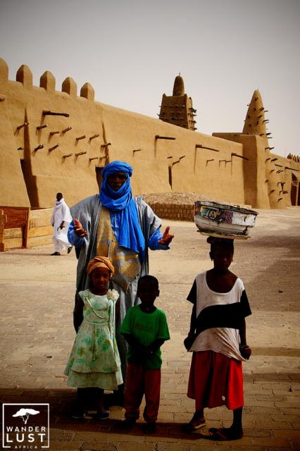 Timbuktu in Mali, West Africa