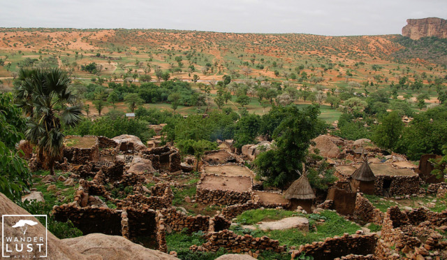 Tirelli in Mali, Dogon Country, West Africa