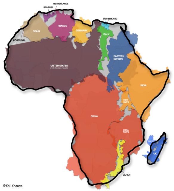 Kai Krause, Das Land Afrika